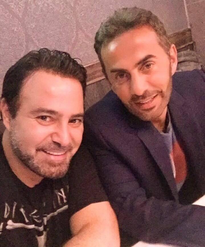 صورة اتفاق بين المنتج عادل معتوق والنجم عاصي الحلاني على جولة فنية عربية