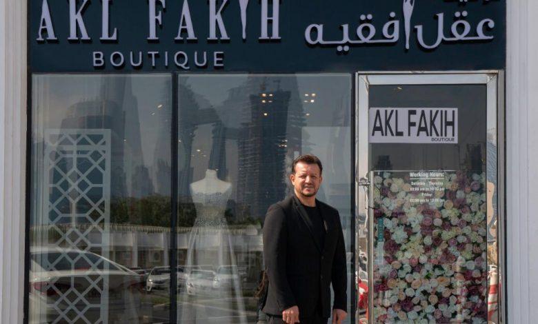 صورة دبي تستقبل المصمم العالمي عقل فقيه