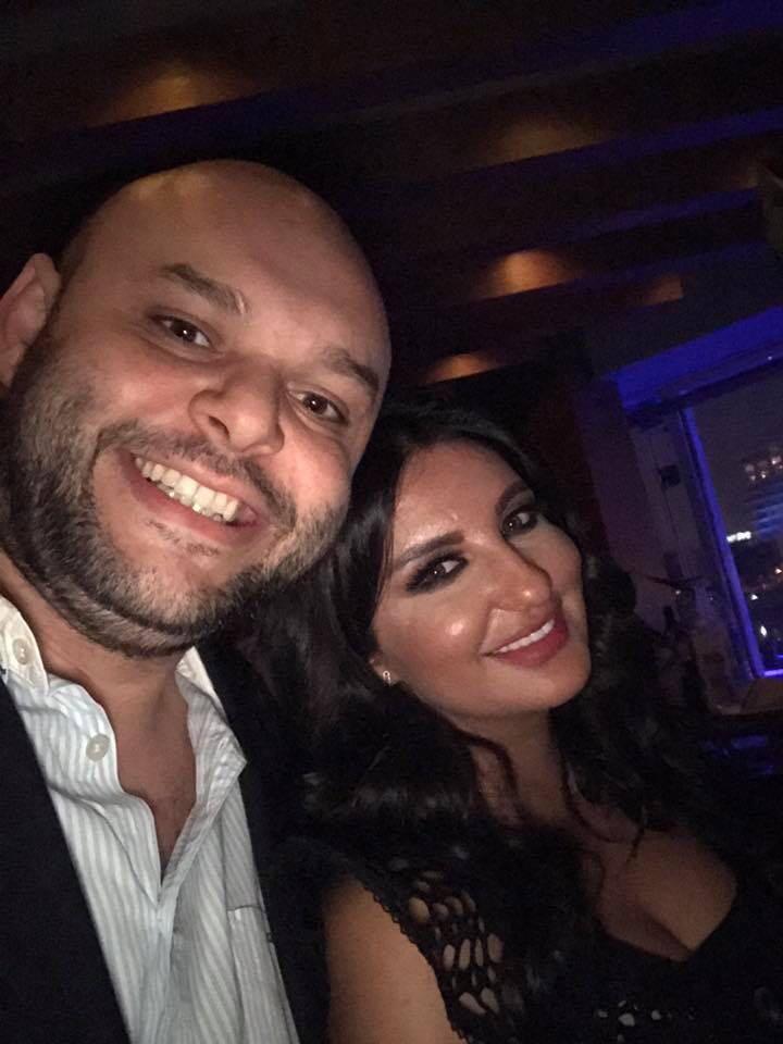 """صورة """"شذي حسون"""" وسر ظهورها سرآ مع احمد البنا في مصر"""