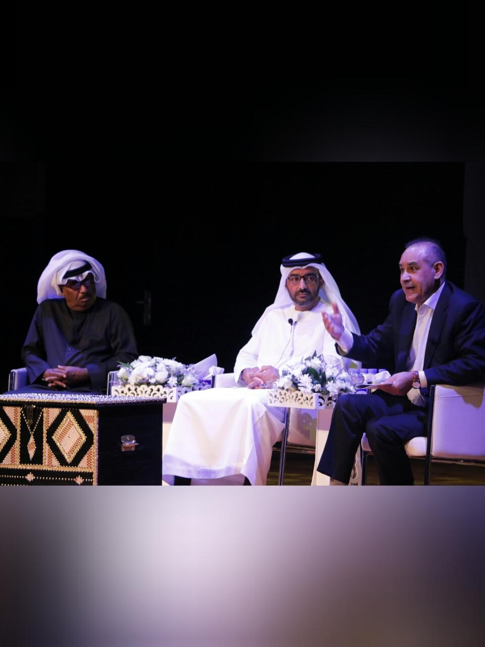 صورة إبراهيم جمعة والشيباني يستحضران التراث الموسيقي الإماراتي في دبا  الفجيرة