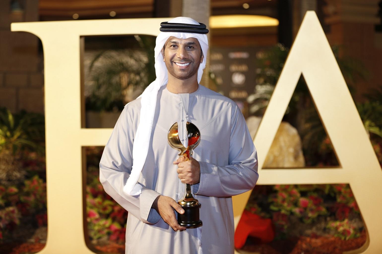 صورة بالصور النجمان فايز السعيد و وائل كفوري يحصدان جوائز ضيافة  في دبي