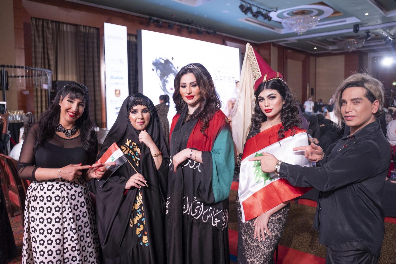 صورة نوره حمدي تطلق مجموعة من الرموش في ملتقي خبيرات التجميل بدبي