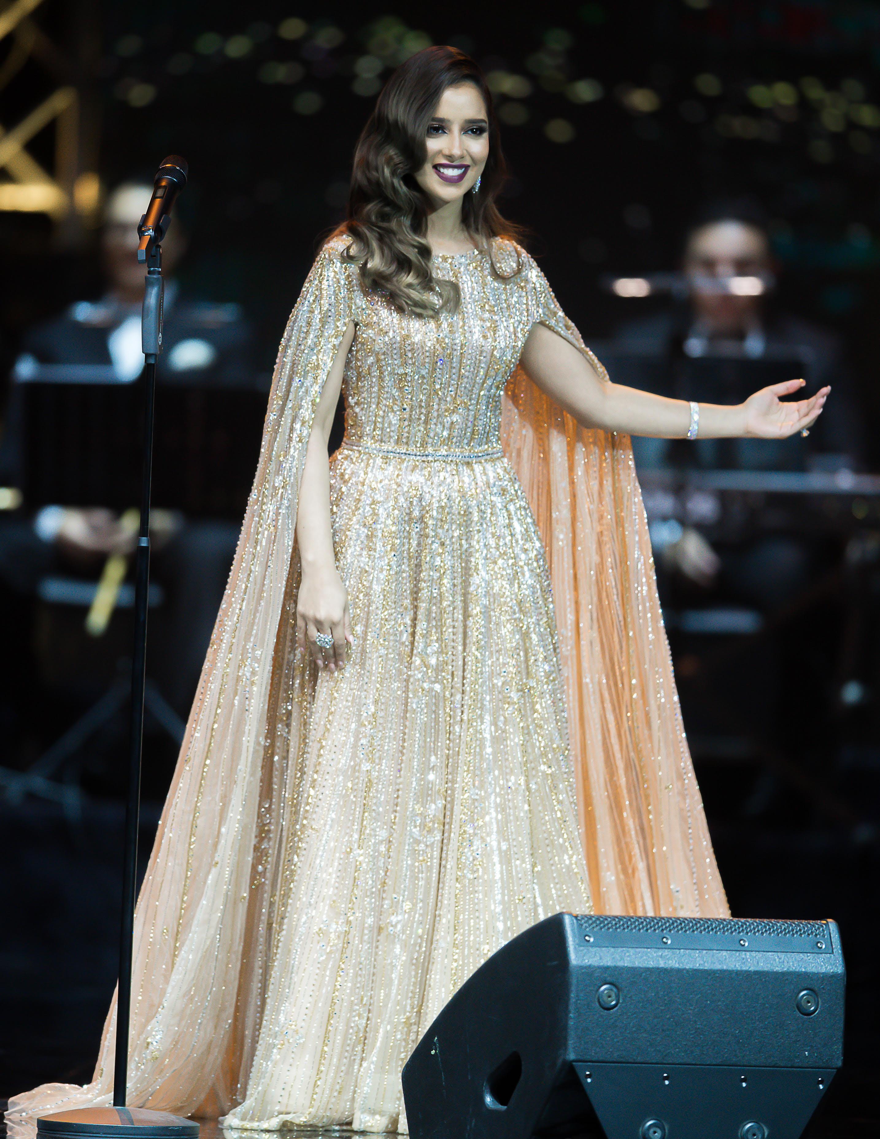 صورة نجاح بلقيس الاغنية الحديثة مع جيل الاصالة احمد فتحي وجمهور الكويت