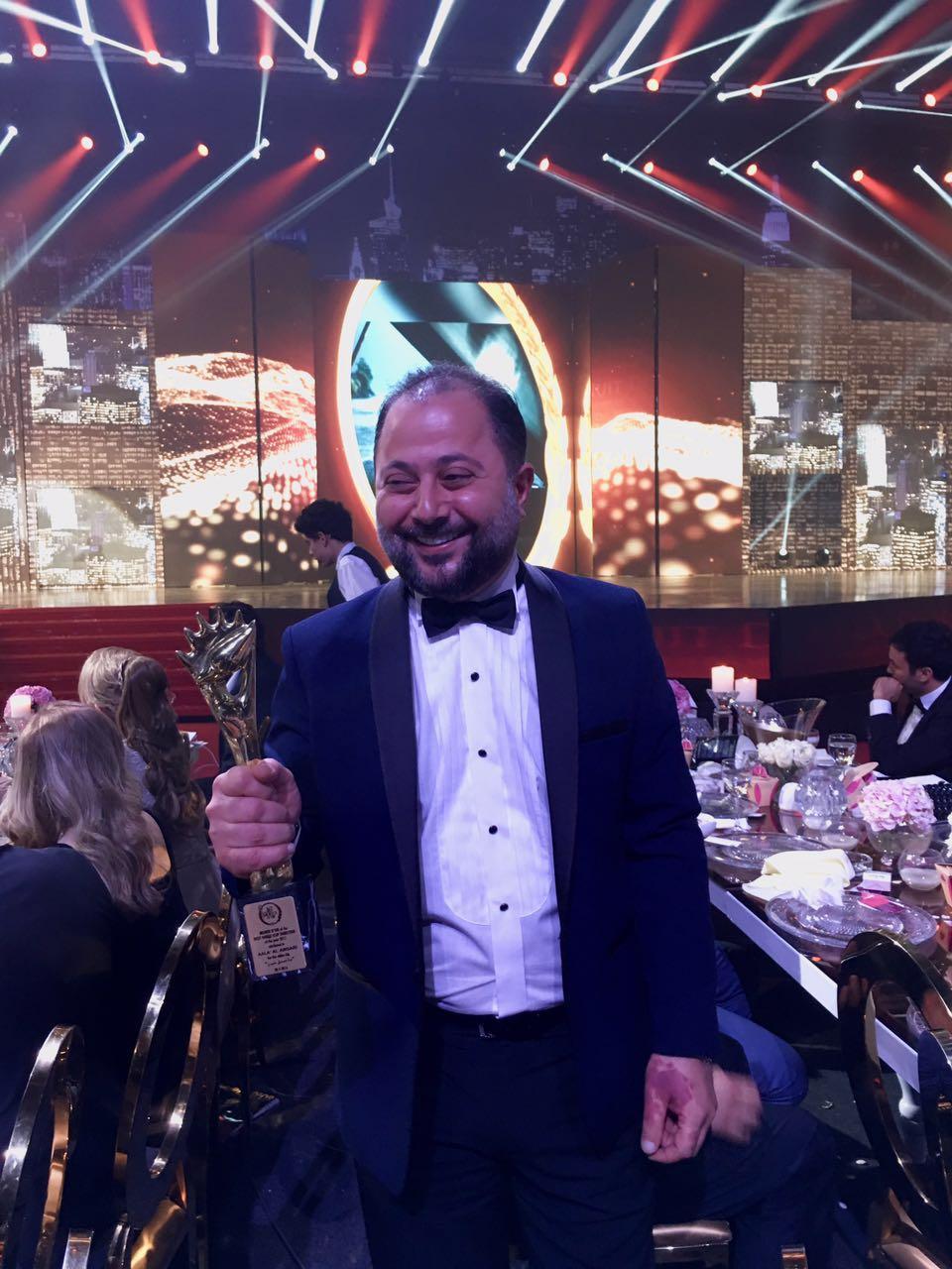 صورة جائزة الموركس دور لأفضل مخرج فيديو كليب عربي من نصيب علاء الأنصاري