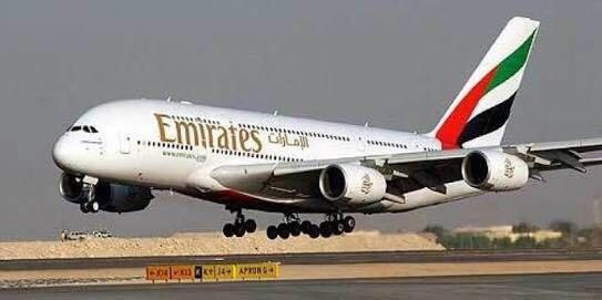 صورة تضامن النجوم مع طيران الإمارات … يا حيالله