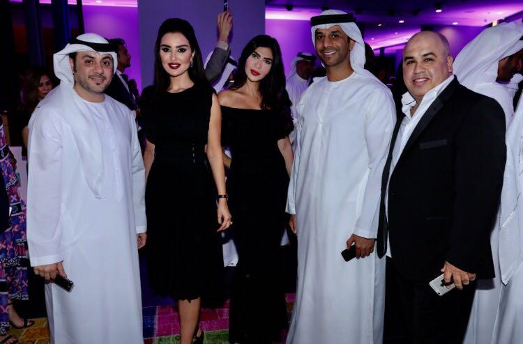 """صورة سفير الالحان فايز السعيد ضيف شرف شركة """"رولز   رويس موتور كارز"""" في دبي"""