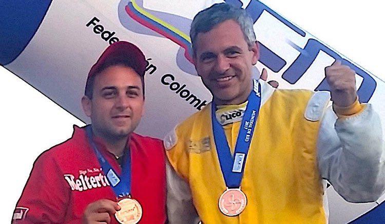 صورة لبنان في بطولة العالم للزوارق السريعة في كولومبيا