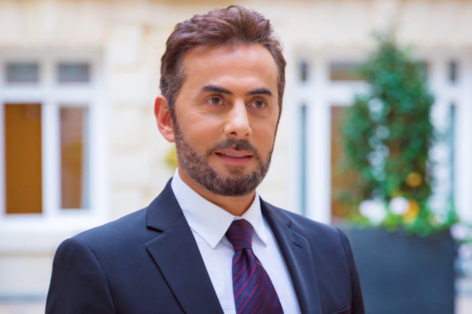 صورة المنتج عادل معتوق يحتفل بالنجم فارس كرم بقصر مؤتمرات باريس