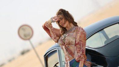 صورة لاروسي نجمة عالمية تحمل نجوميتها الى الإمارات
