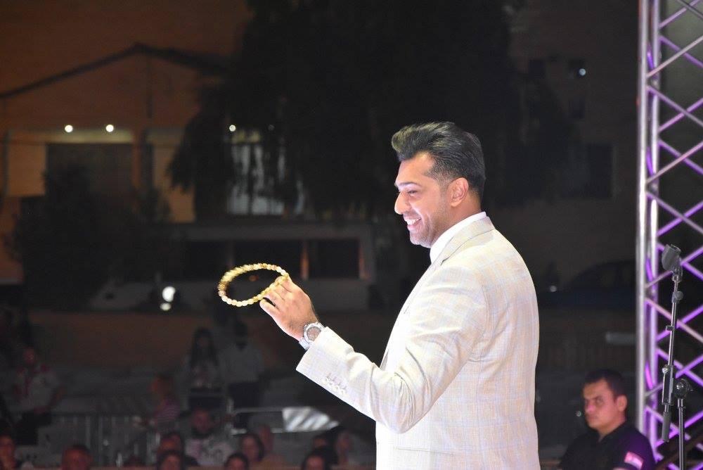 صورة بالصور : هُمام ابراهيم يلهب مهرجان الفحيص في الاردن