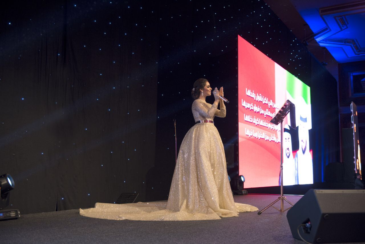 """صورة شاركت في أوبريت """"دارنا الإمارات"""" في رأس الخيمة والتقت جمهور دبي في """"دبي باركس أند ريزورتس"""""""