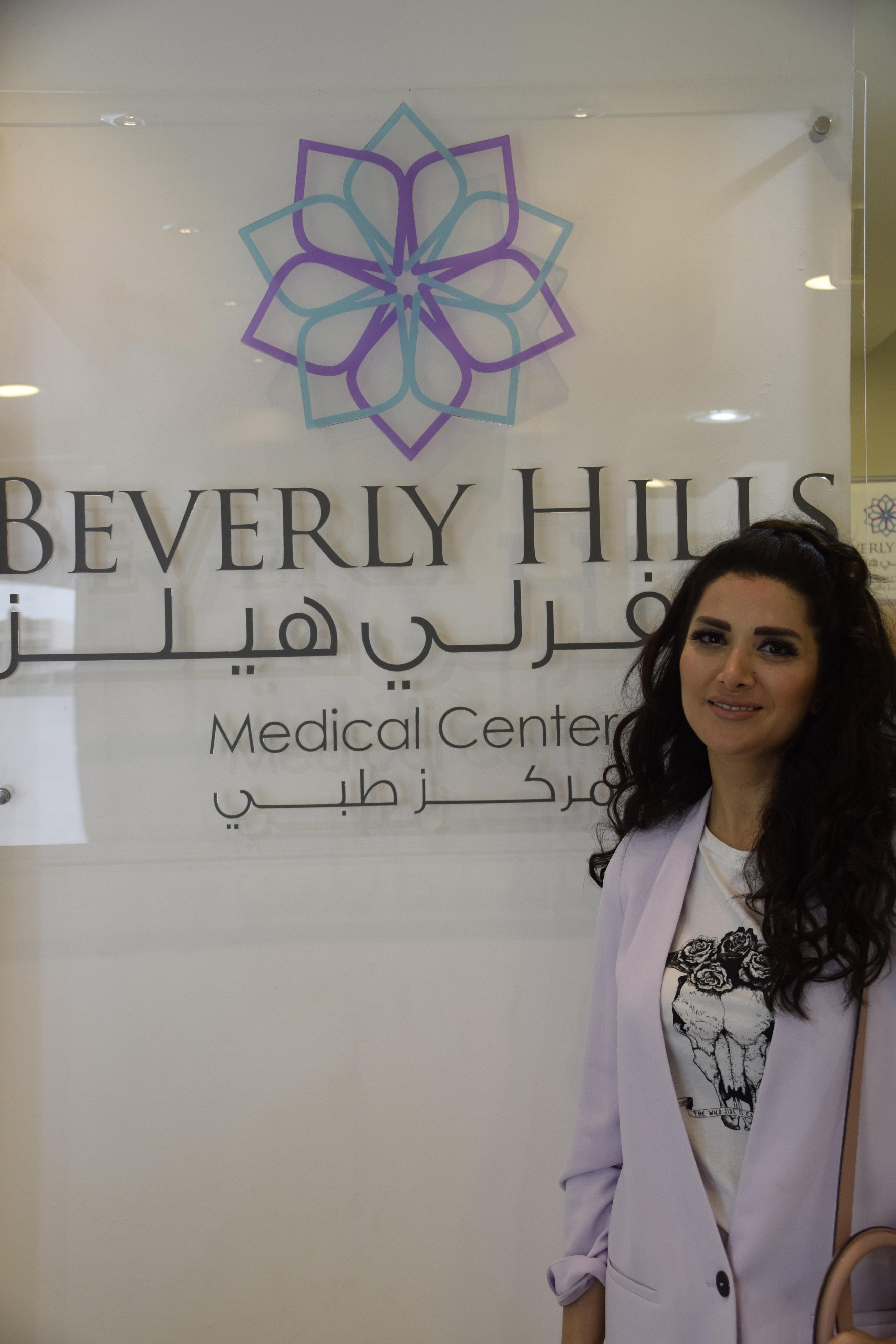 """صورة زين عوض وفيصل الجاسم يعتنيان بصحتهما في """"بيفيرلي هيلز الطبي"""" بأبوظبي"""