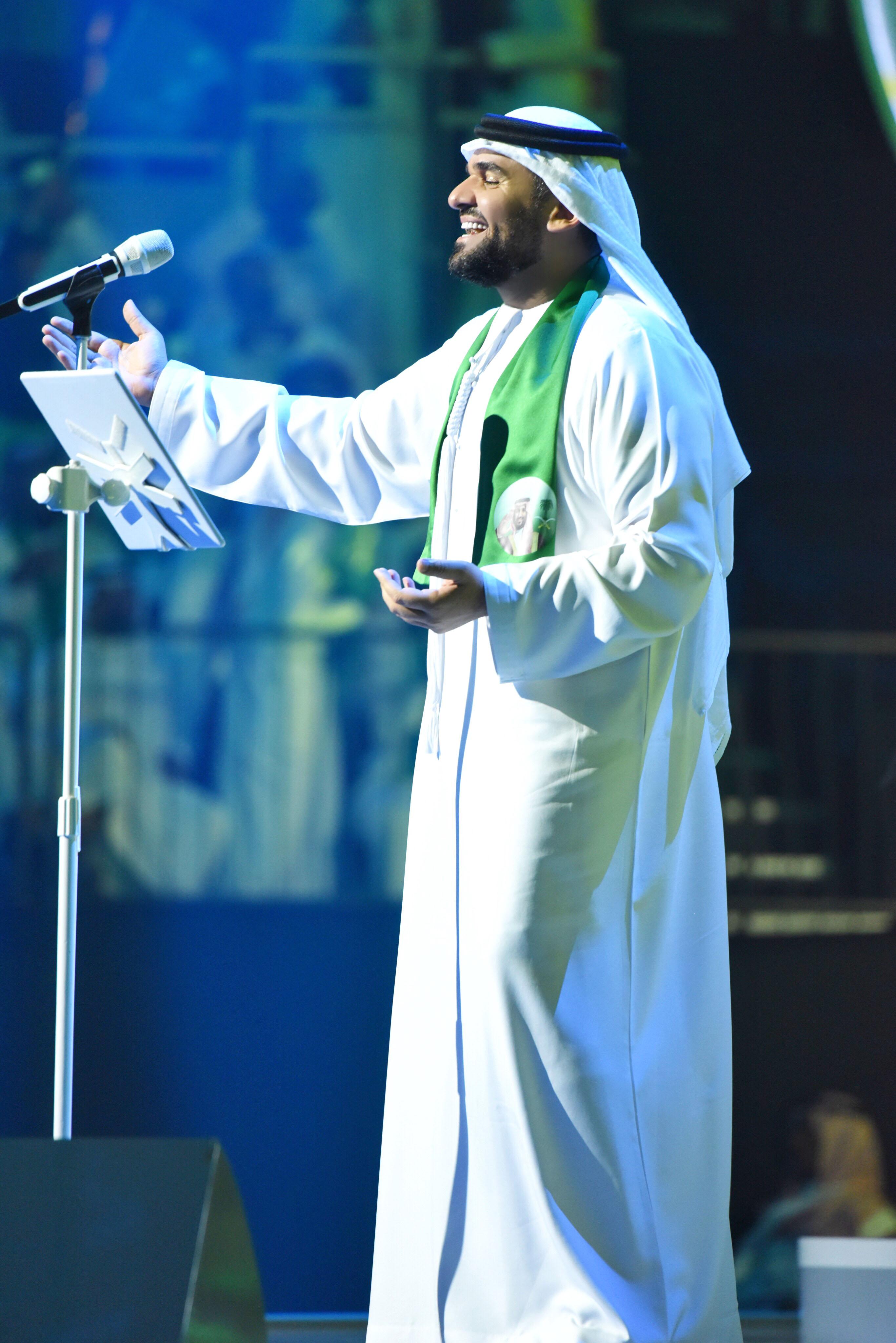 صورة حسين الجسمي يشارك السعودية فرحتها باليوم الوطني الـ87