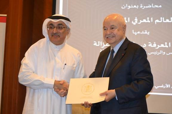 صورة دولة سمو حاكم دبي بالتعاون مع الشؤون القانونية وتكريم د. ابوغزالة