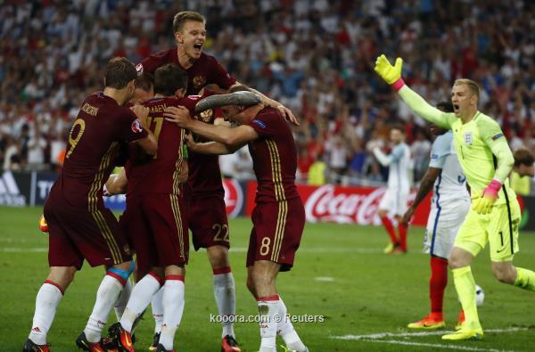 صورة روسيا تخطف التعادل من إنجلترا في الوقت القاتل