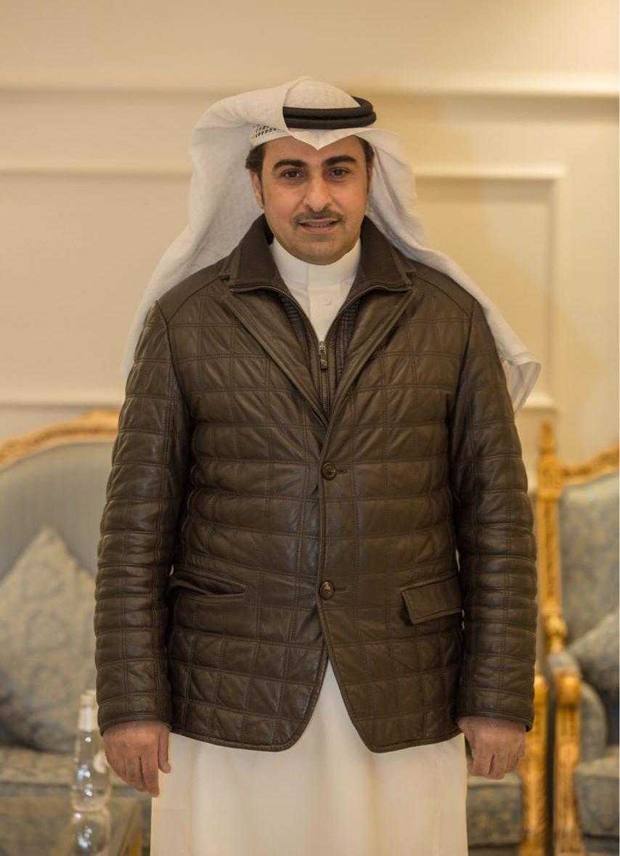 صورة خالد المريخي يكرم ويحتفي بالامير الشاعر عبد الرحمن بن مساعد