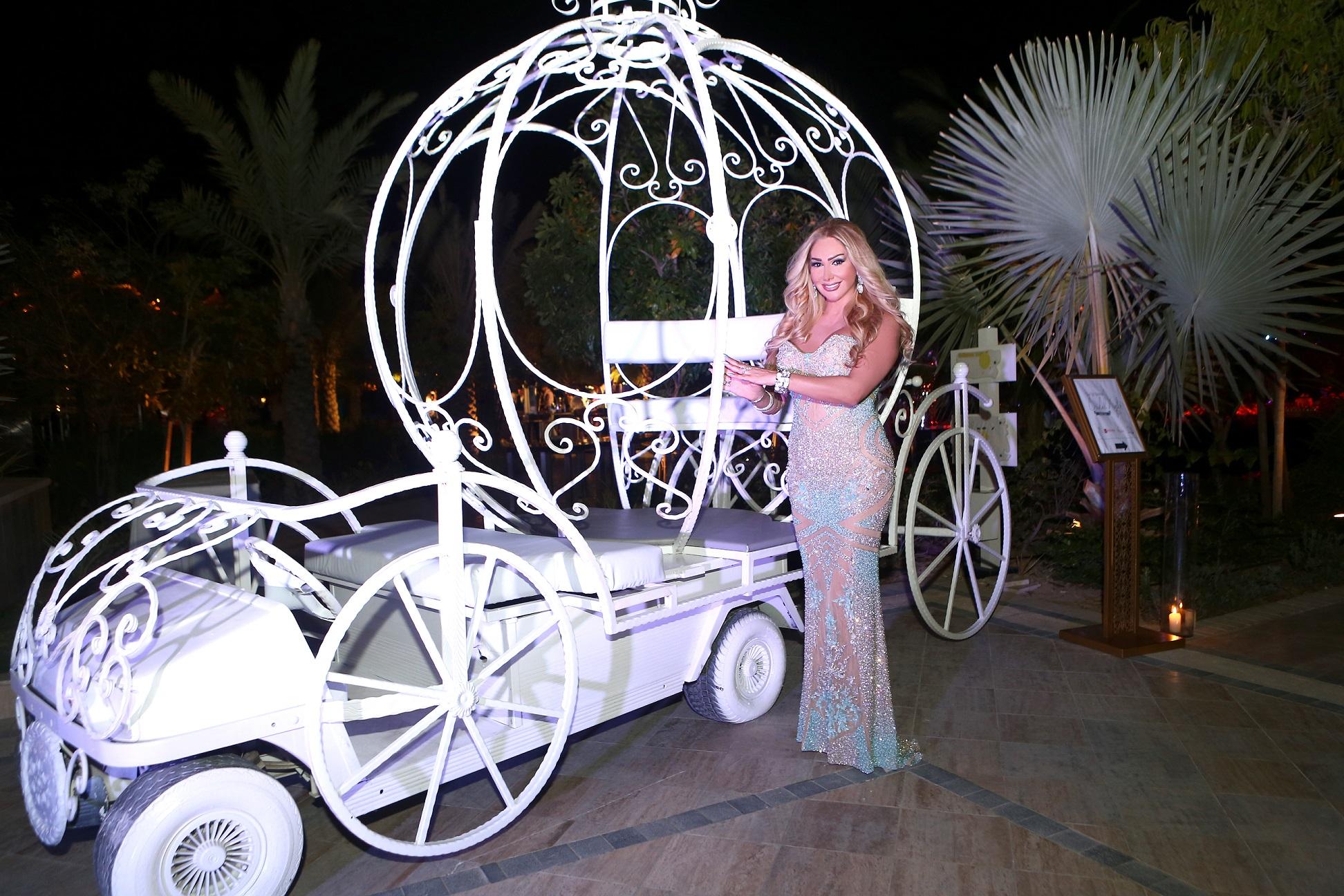 """صورة نجوى سلطان في دبي""""ليلة زفاف"""""""