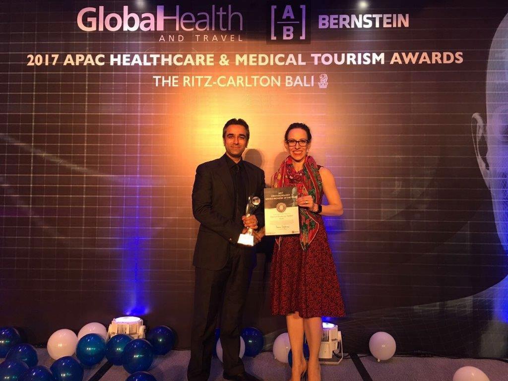 صورة مركز امبريال الطبي يحصد جائزة افضل مقدم لخدمة طب العيون في دبي