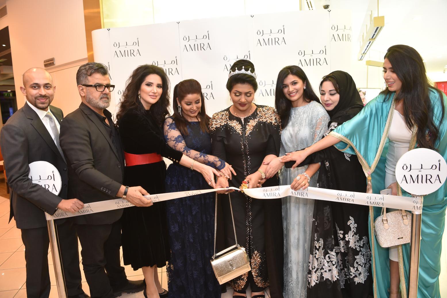 صورة افتتاح مجوهرات أميرة في أبو ظبي بحضور نجوم الفن والاعلام