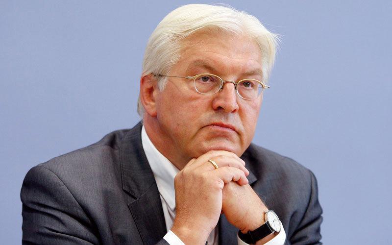صورة شتاينماير يؤكد أن أوروبا تمر بأزمة شديدة