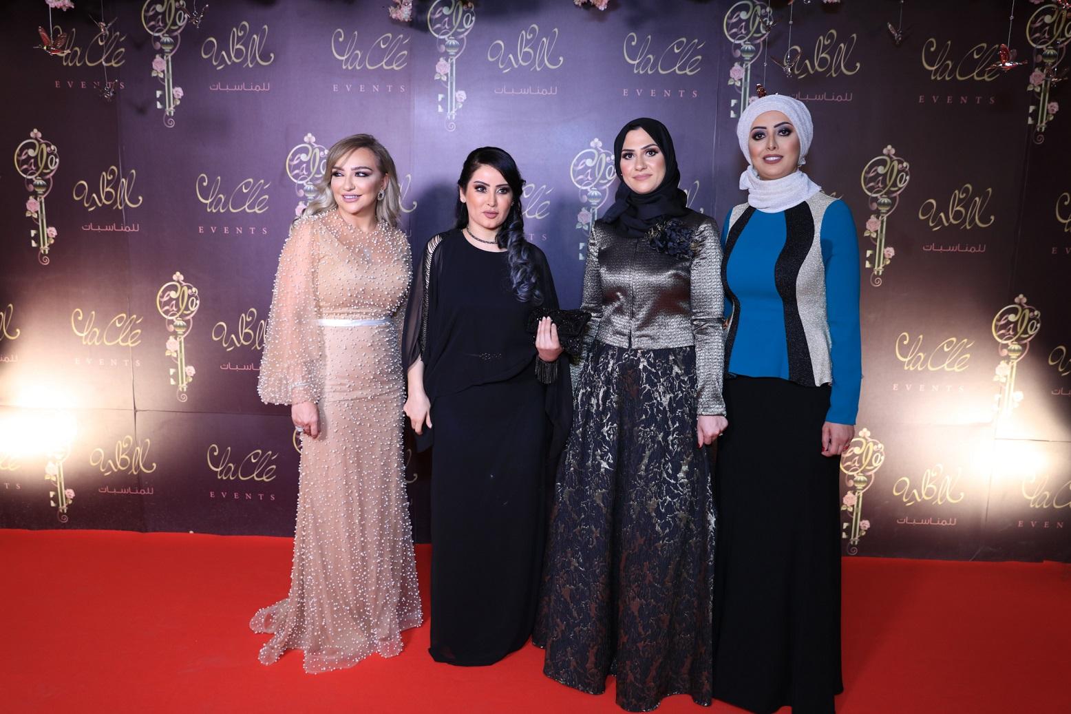 صورة شمس الكويتية وفيفيان مراد ودومنيك حوراني نجوم حفل لاكليه