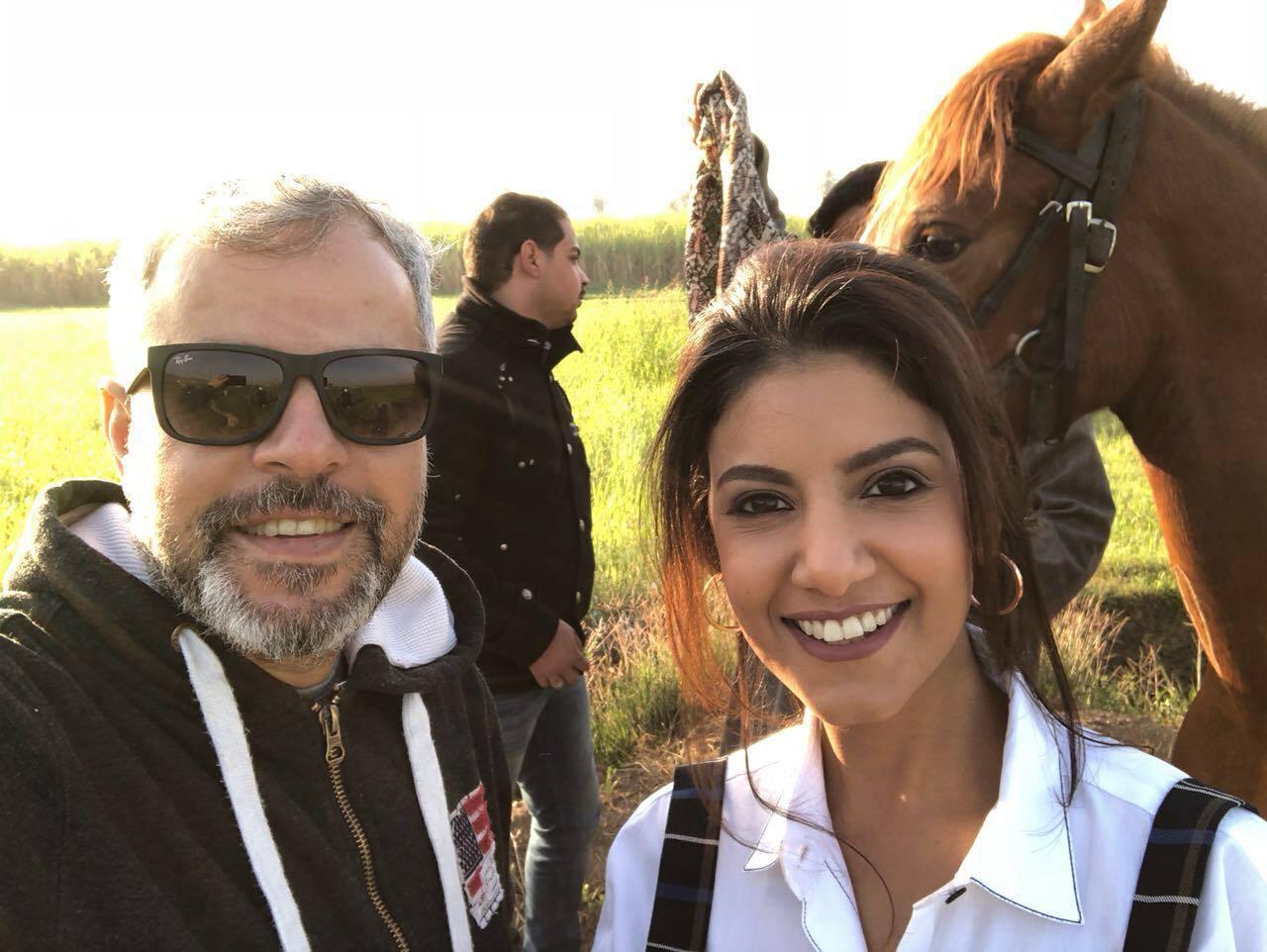 صورة النجمة ياسمين علي والجديد مع لايف ستايلز ستوديوز