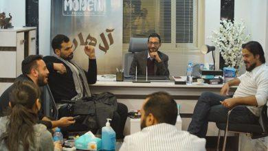 صورة الصور الاولي من كواليس فيلم ال هارون للمنتج حسني محمود