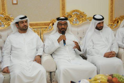 صورة مجلس منتدى الفجيرة الرمضاني في البدية: الإمارات عاصمة عالمية للتسامح وزايد رجل التسامح الأول دولة الإمارات العربية المتحدة، الفجيرة
