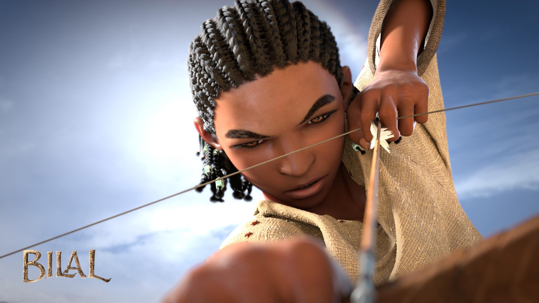 """صورة """"بلال"""" يحطم أصفاد العبودية ويقدّم نموذجاً لبطل من التاريخ  العربي"""