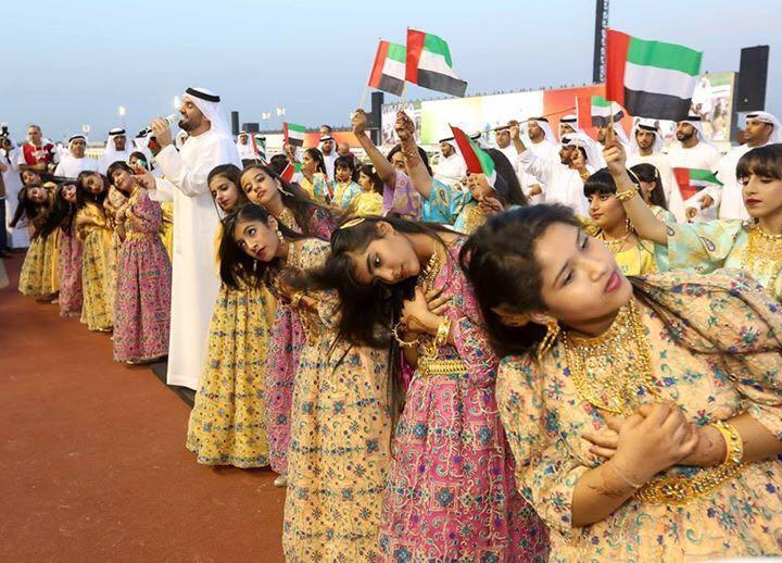 صورة حسين الجسمي متألقاً في كأس دبي العالمي للخيول