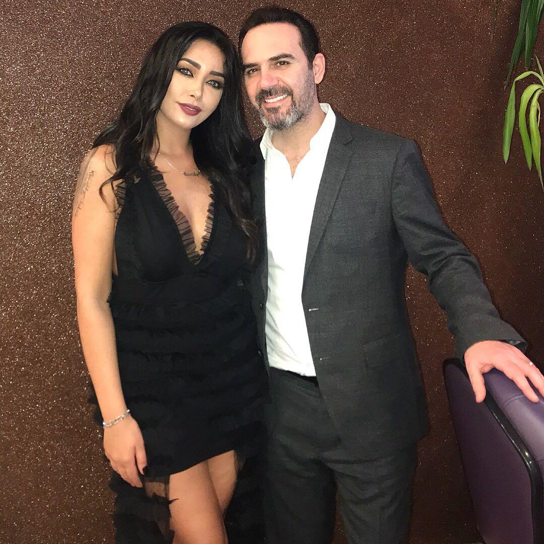 صورة كاميليا ورد والنجم وائل جسار وليلة رائعة بحفل قبرص