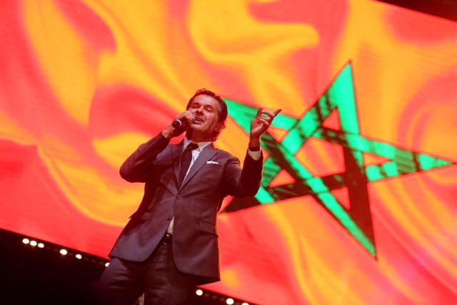 صورة السوبر ستار راغب علامة يفتتح مهرجان إفران في المغرب