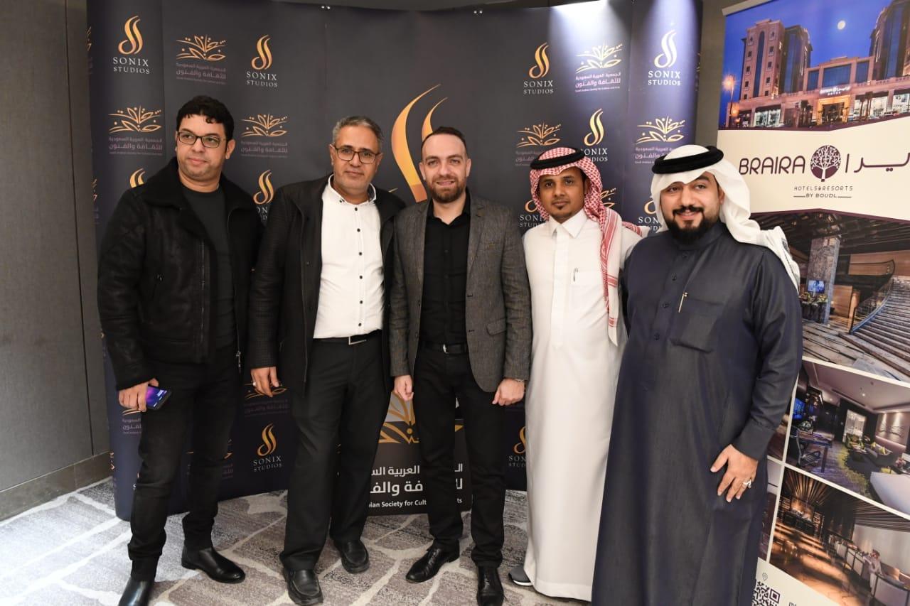 صورة السعودية وانطلاقة برنامج الصوت وتقنية الآداء مع طوني البايع