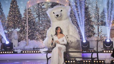 صورة ليلة حلم تجمع هبة طوجي واسامة الرحباني  وقصيدة منصور  في  عيد الميلاد المجيد