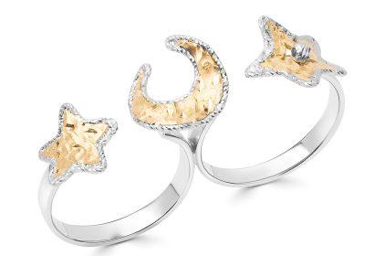 صورة داماس تطلق مجوهرات بأشكال الهلال والنجوم بمناسبة الشهر الفضيل