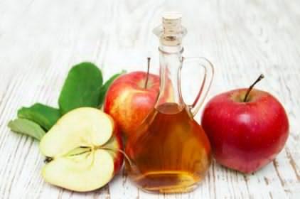 صورة خل التفاح: الحل الأمثل لشعر لامع وبشرة صافية