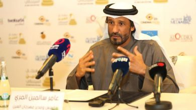 صورة عامر المري يفصح عن كواليس العين السينمائي الدورة الثالثة ومؤتمر كبير